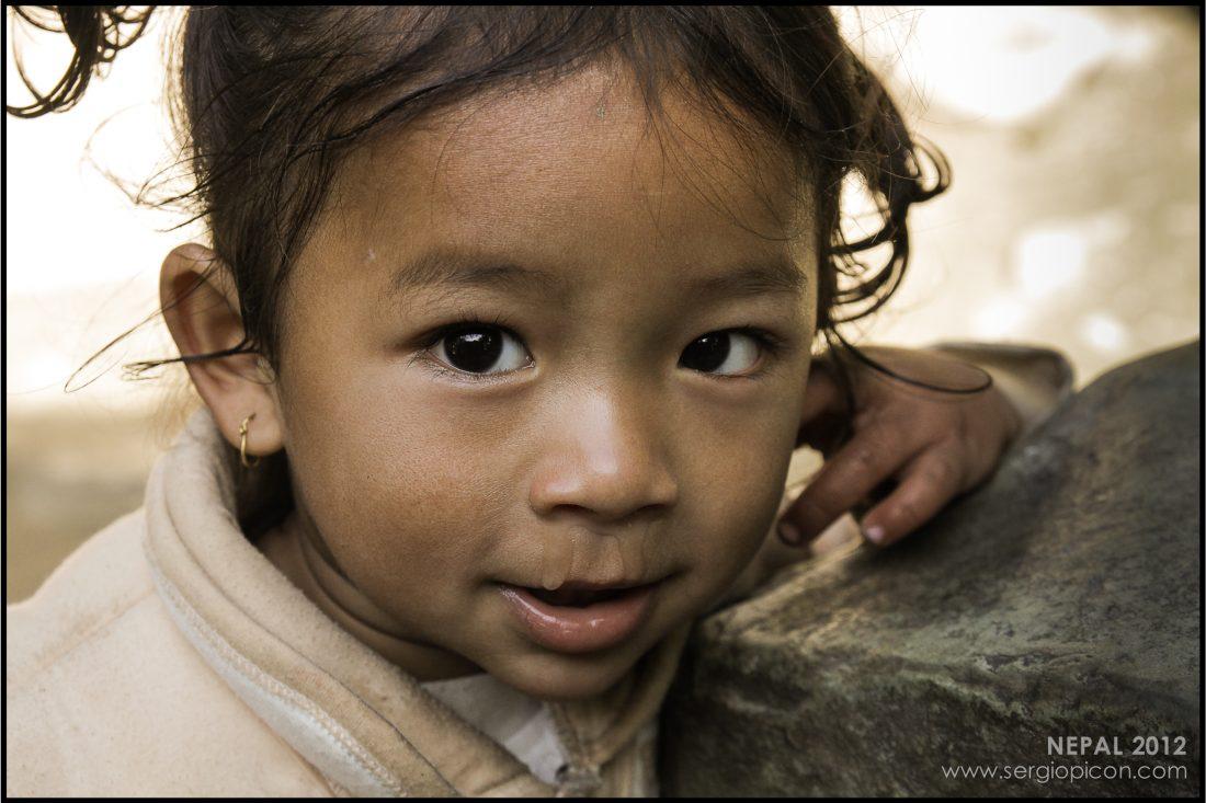 La niña más tremenda de Nepal